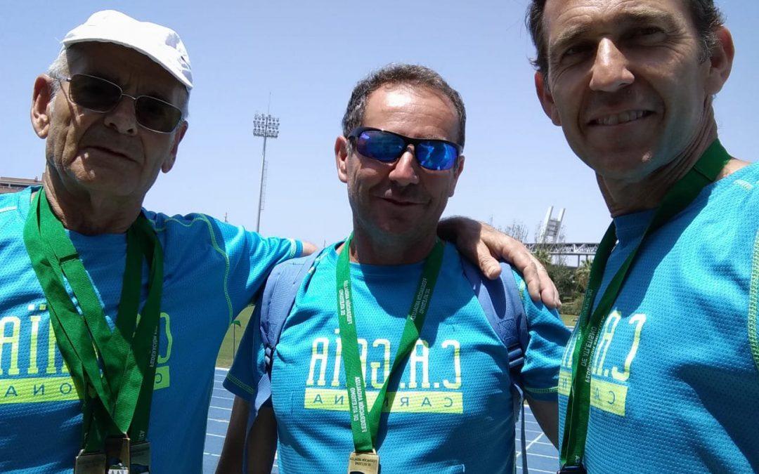 Pleno de medallas en el Campeonato de Andalucía