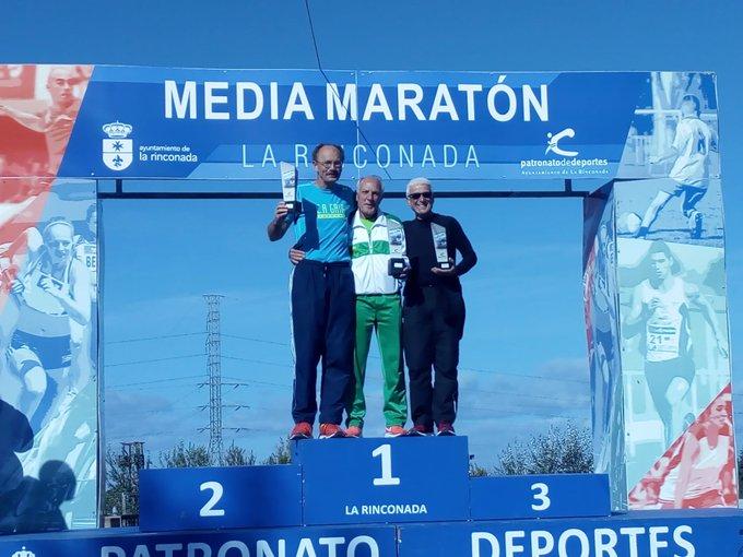 Premio en la II Meia Maratón Entreparques