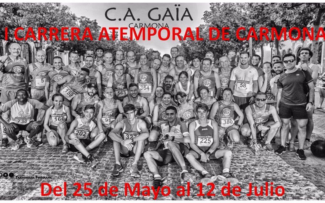 1º Carrera Atemporal de Carmona